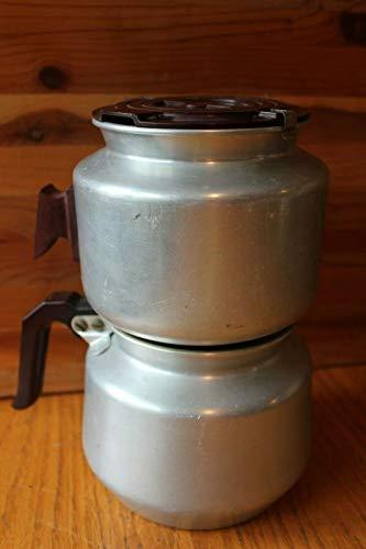 Duralux Aluminum Vacuum Coffee Maker Vintage Stove top Rare model