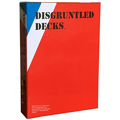 Disgruntled Decks - The Original Military Party Card Game for Veterans -
