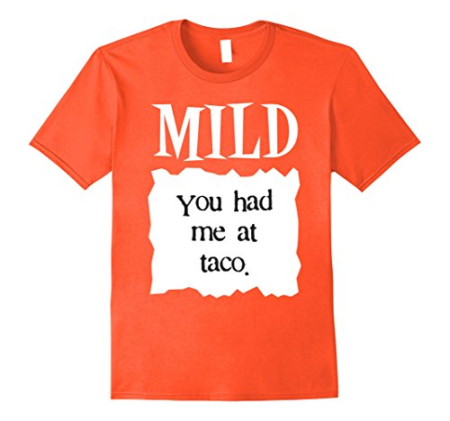 Mom Costume Et (Mens Mild Hot Sauce Packet Funny Halloween Costume T-Shirt Medium)