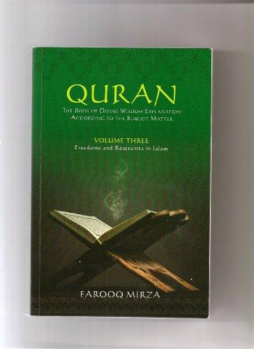 Quran: The book of Divine Wisdom (Divine revelations from Adam to Jesus 1)