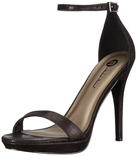 Michael Antonio Women's Lovina-met2 Dress Pump, Black, 7 W US