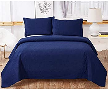 3-Piece Oliven Bedspreads Coverlet Set with 2 Pillow