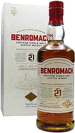 Benromach - Speyside Single Malt Scotch - 21 year old Whisky
