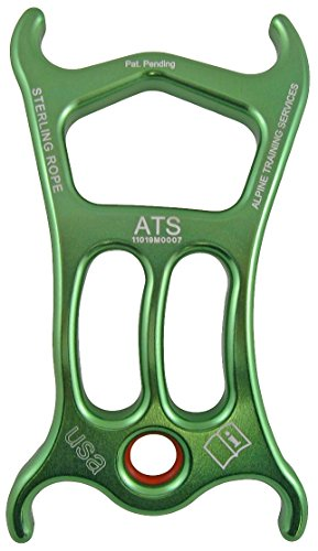 Sterling Rope ATS Device, Green, 5 x 2 x 3/8-Inch ()