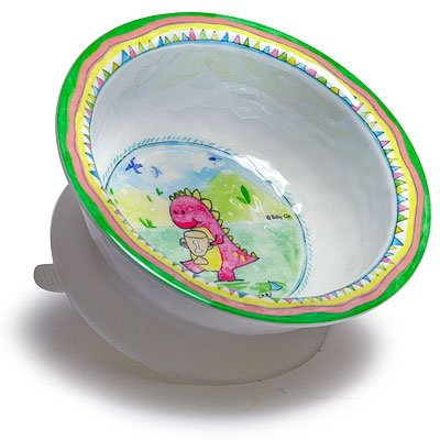 Baby Cie Etre Le Premier 'Be The Leader' Textured Suction Bowl, Multicolor (Baby Cie Suction Bowl)