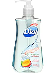 Dial Liquid Hand Soap, Coconut Water & Mango, 7.5 Fluid Ounces