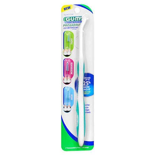(GUM Proxabrush Handle and Refills - Each, Pack of 3 )