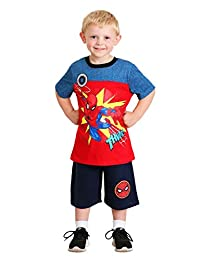 Boy's Spider-Man Thwip Shirt and Short Set Size 4