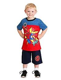 Boy's Spider-Man Thwip Shirt and Short Set Size 4