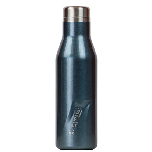 - EcoVessel Aspen TriMax Insulated Stainless Steel Water & Wine Bottle - Blue Moon, 25 oz