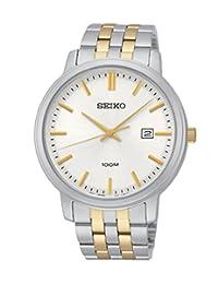 Seiko Men's 'Gliese' Swiss Quartz Stainless Steel Casual Watch (Model: JV1532)