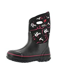 Bogs Girls' Classic Ice Skates Tall Waterproof Winter Boot