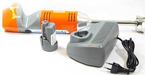 Dynamic - Batidora inalámbrica Dynamic Nomad MX130 autonomía 30 minutos Potencia 2000 mA velocidad en carga 10000 rpm/min Volume 1 A 4 L: Amazon.es: Hogar