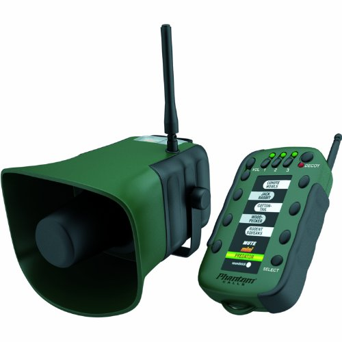 Extreme Dimension Wildlife Calls - Mini Phantom Remote with Predator 2 and 3 Sticks - EDMR302 - Remote Controlled Electronic Coyote Call - 150 Yard Range - Up to 120 db by Extreme Dimension Wildlife