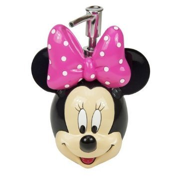 0c682086007 Amazon.com  Disney Minnie Mouse Soap   Lotion Dispenser  Home   Kitchen