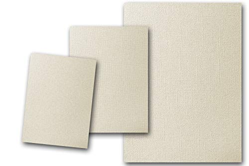 - Premium Pearlized Metallic Textured Dove Ivory Card Stock 80 Sheets - Matches Martha Stewart Dove - Great for Scrapbooking, Crafts, Flat Cards, DIY Projects, Etc. (5 x 7)