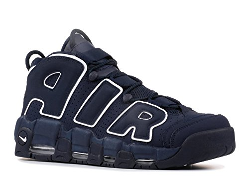 "Nike Air More Uptempo 96 ""Obsidian"" NBA Retro Scottie Pippen Chicago Bulls, Scarpe da Corsa Uomo"