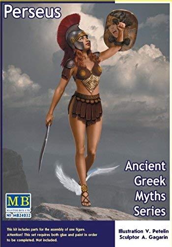 Masterbox MASTER BOX 24032 ANCIENT GREEK MYTHS SERIES PERSEUS 1/24 SCALE MODEL KIT