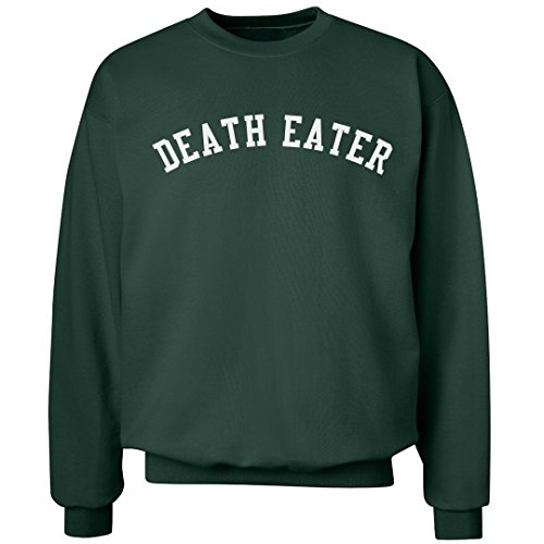 Customized Girl Black Death Eater: Unisex Ultimate Crewneck Sweatshirt -