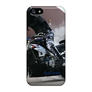 Shockproof Hard Phone Cases For Iphone 5/5s (URo6358xVWV) Support Personal Customs Colorful Yamaha Pattern