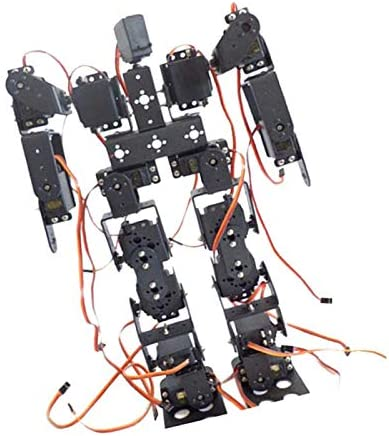 Milageto 17 DOF Biped Walking Humanoid Robot Kits Zubehör Mit Servohorn