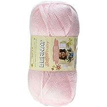 Bernat  Softee Baby Solid Yarn - (3) Light Gauge 100% Acrylic - 5oz  -  Pink  -  Machine Wash & Dry