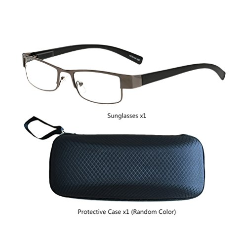 and Gray Dark Men Women Eyewear Choose Zhhlaixing Lunettes Your Comfortable for lecture Magnification Glasses Gift de Reading rétro Elderly TEqSwUfS