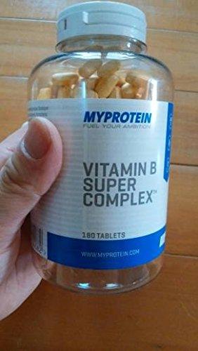 MyProtein Super Complex Complejo de Vitamina B - 180 Tabletas: Amazon.es: Salud y cuidado personal