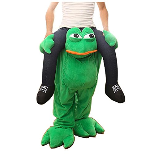 Halloween Magic Funny Pants Piggyback Ride On Riding Animal Shoulder Adult Costume Bindspeaker Pants--One Size (Ship by (1 99 Costume)