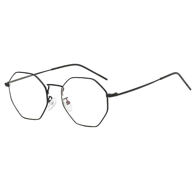 Gafas de sol Unisex, ZARLLE Rectángulo de Moda Aviator ...