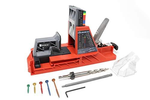 Armor Tool Auto-Jig & 350 Piece Screw Set (350 Piece Tool Set)