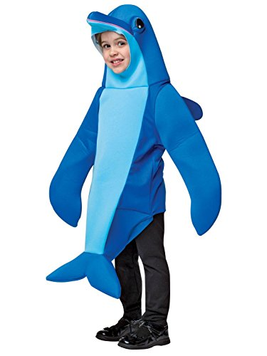 Dolphin Costumes For Kids (Rasta Imposta Women's Dolphin, Blue, 3-4T)