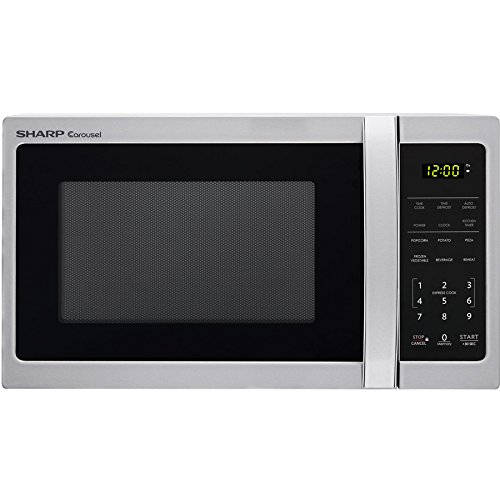 Sharp 0.7-cu ft 700-Watt Countertop Microwave Stainless