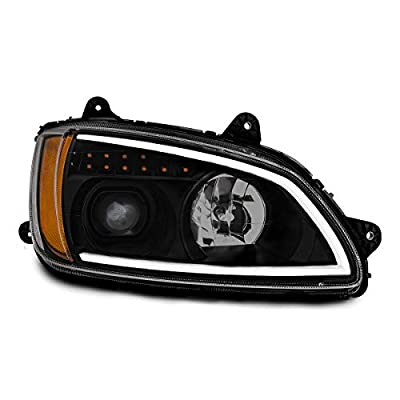 Grand General 89443 Headlight (Black Projection with LED Turn/Position, P/S,Kw T660 08+): Automotive
