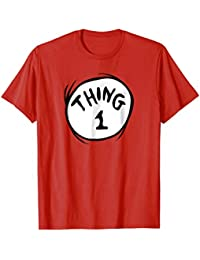 fc12062e0c7 Thing 1 Emblem RED T-shirt
