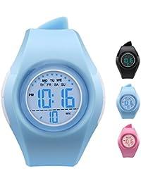 Kids Watch Waterproof Children Electronic Watch -...