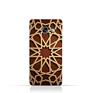 AMC Design Cases & Covers Samsung Galaxy A3 (2017) - Brown & Beige