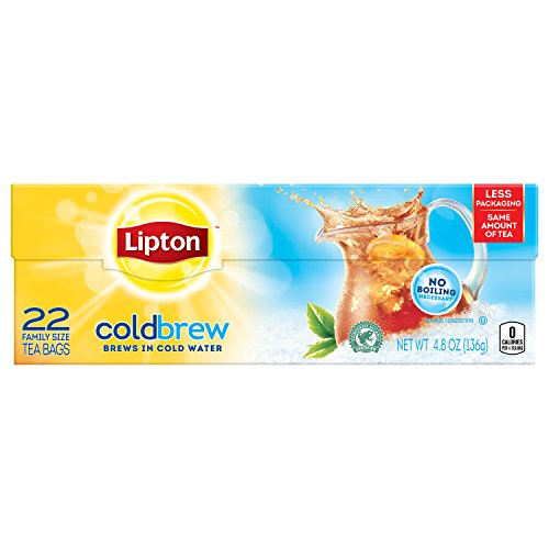 Lipton Cold Family Sized Black Unsweetened