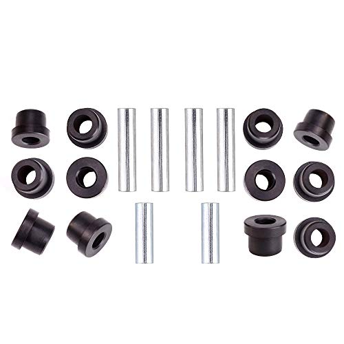 10L0L Front or Rear Leaf Spring & Front Upper A Arm Suspension for Club Car Precedent Golf Cart, Bushing and Sleeve Kit