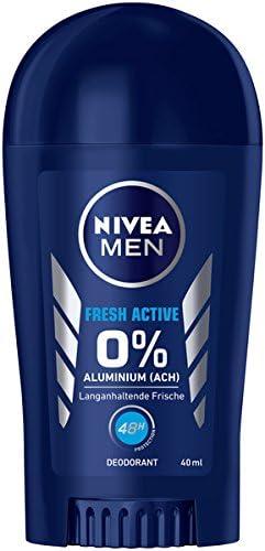 Desodorante Nivea Men Fresh Active en pack de 6 (6 x 40 ml), sin ...