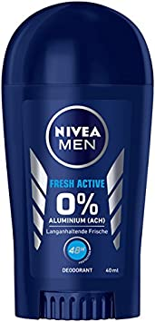 Desodorante Nivea Men Fresh Active en pack de 6 (6 x 40 ml), sin ...