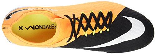 Nike Hypervenomx Finale II TF, Zapatillas de Fútbol Para Hombre, Naranja (Laser Orange/Black-White-Volt), 47.5 EU