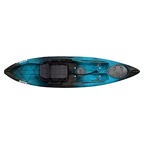 Wilderness Systems Ride 115 Max Kayak - CLOSEOUT Midnight (blue/black blend) - Ride System