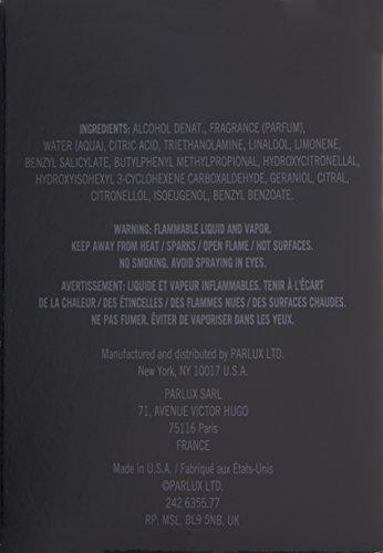 Kenneth Cole Black By Kenneth Cole For Men. Eau De Toilette Spray 3.4 Ounces