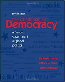 Challenge of democracy cengage