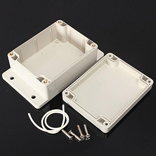 Wasserdicht Kunststoff elektronische Box Gehäuse Kasten Abdeckung Verschiedene Größen (Größe: 100 * 68 * 40mm)