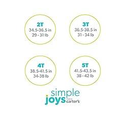 Simple Joys by Carter's Toddler Girls' 4...