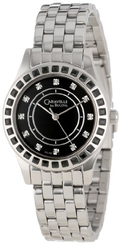Caravelle by Bulova Women's 43L153  Crystal Bracelet Watch