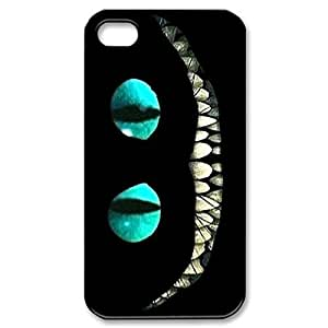 Cheshire Cat Alice in Wonderlan Hard Cover Case for iPhone 5 5s case -black CASE