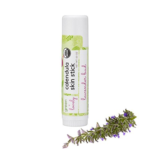 Calendula Skin Stick, Lavender Bud. Moisture Stick. Organic Lotion Bar. Moisturizing Ointment Salve. Multipurpose Skin Cream - 0.5 oz. (1 ()